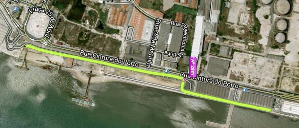 rua da cintura do porto de lisboa mapa Outubro | 2013 | kmepalavras rua da cintura do porto de lisboa mapa