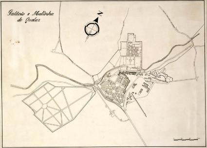projeçao visual palácio e matinha de queluz - ilidio de araújo 1925